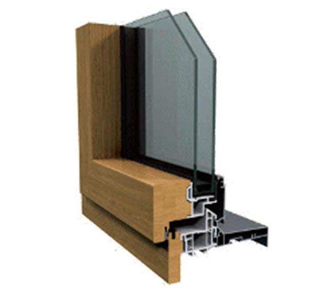Fenêtre mixte bois aluminium