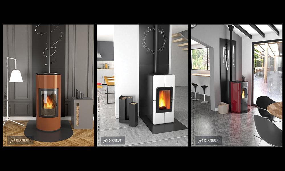 Inspirations d'accessoires pour poêles et cheminées...