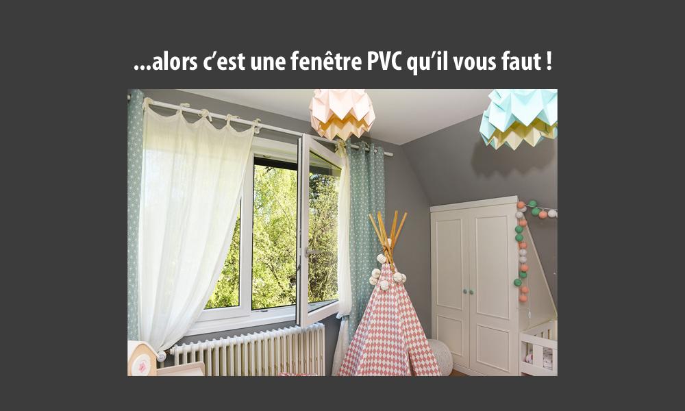 Fenêtre PVC Kbane