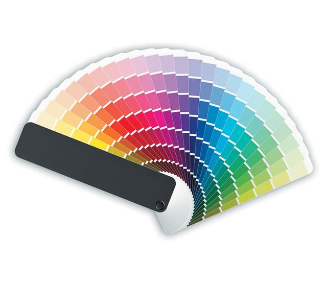 Le PVC offre une large palette de couleurs
