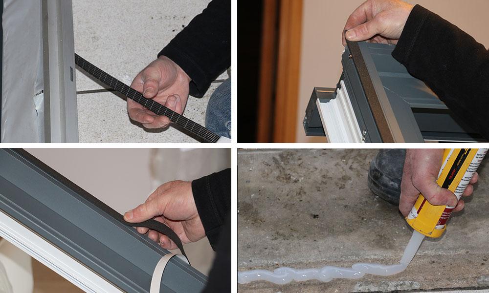 Etanchéité et remplacement porte-fenêtre