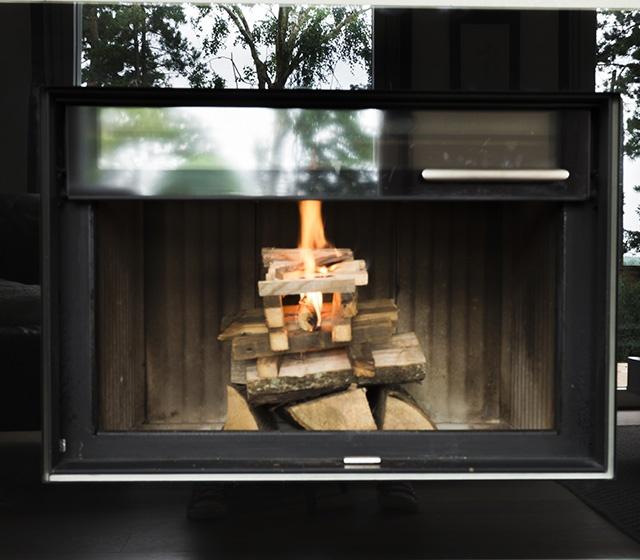 Retour de fumée poêle à bois allumage inversé