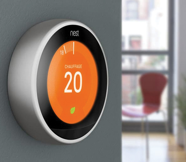 Le thermostat intelligent Nest