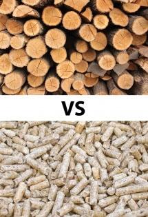 Choisir entre la bûche et le pellet