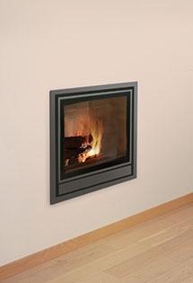 Insert bois Nordic ventilation intégrée 8kW