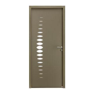 Porte d'entrée aluminium Abysse