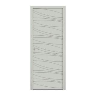 Porte d'entrée aluminium Brunelle