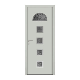 Porte d'entrée aluminium Buga 5