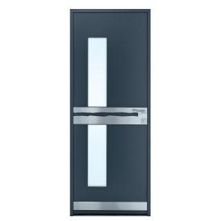 Porte d'entrée aluminium  Cluse