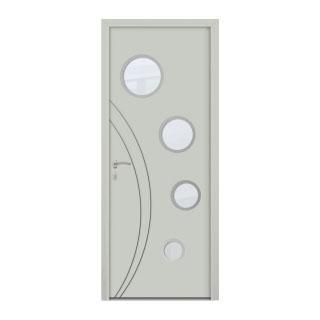 Porte d'entrée aluminium Cobalt 4