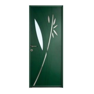 Porte d'entrée aluminium  Fidis