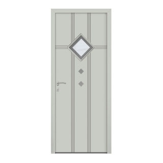 Porte d'entrée aluminium Hercule 1