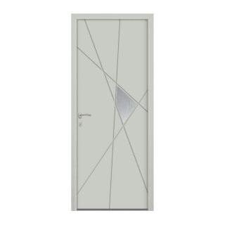 Porte d'entrée aluminium Hibiscus