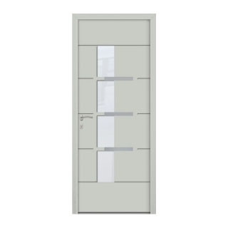 Porte d'entrée aluminium Pastel 4