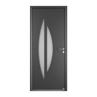 Porte d'entrée aluminium Sélène