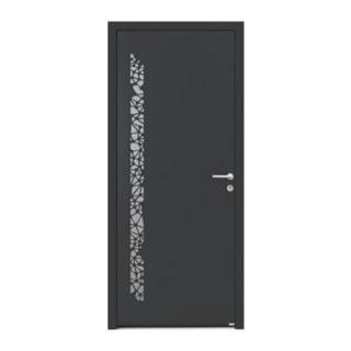 Porte d'entrée aluminium Topaze