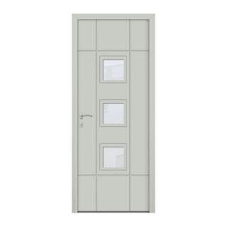 Porte d'entrée aluminium Turquoise 3