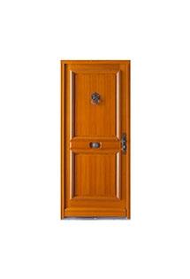 Porte d'entrée bois Avoriaz
