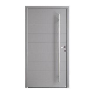 Porte d'entrée mixte alu-bois Phosphore