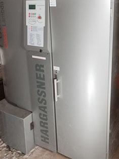 Installation d'une chaudière à pellet Hargassner