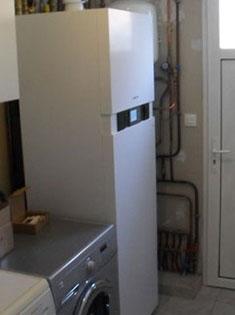 Remplacement et installation d'un combiné chauffage condensation