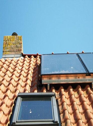 Installation d'un chauffe-eau solaire thermodynamique dans le Nord
