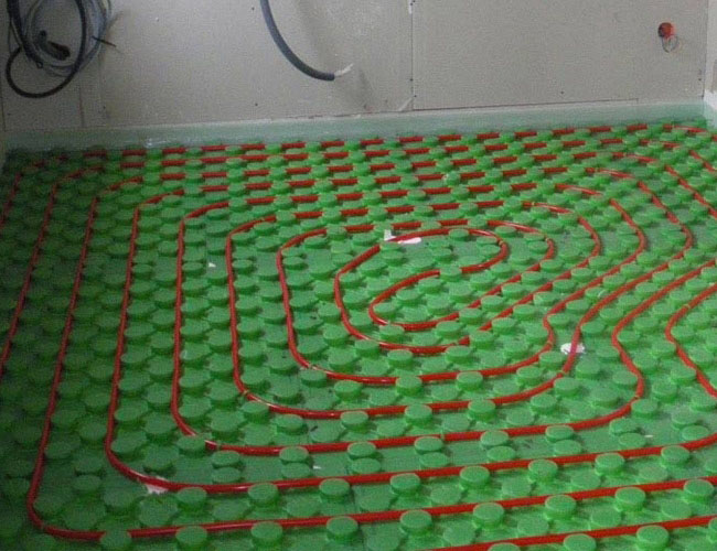 Émetteur de chaleur type plancher chauffant