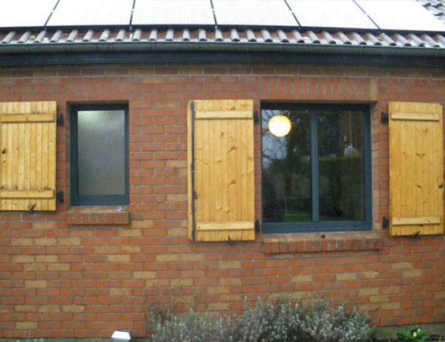 Remplacement de l'existant et pose de fenêtre et porte fenêtre
