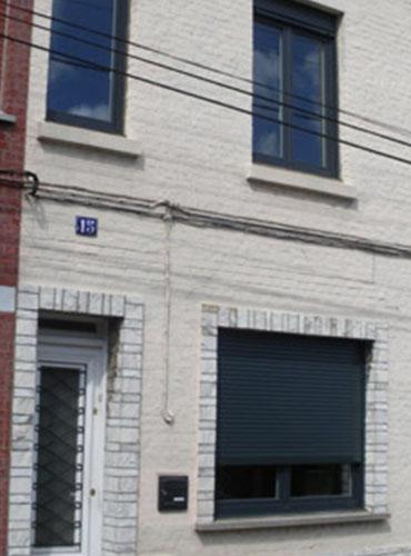 Pose d'une porte d'entrée AMCC à Hasnon