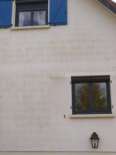 Pose fenêtres PVC Oknoplast bicolorées