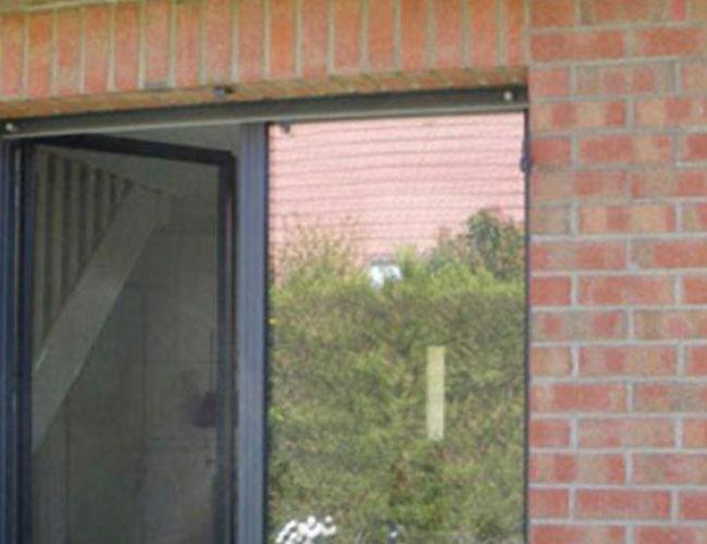 Remplacement de 4 fenêtres aluminium avec volets motorisés