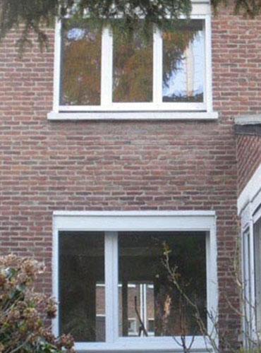 Pose de fenêtres, M3D aluminium, marque Millet