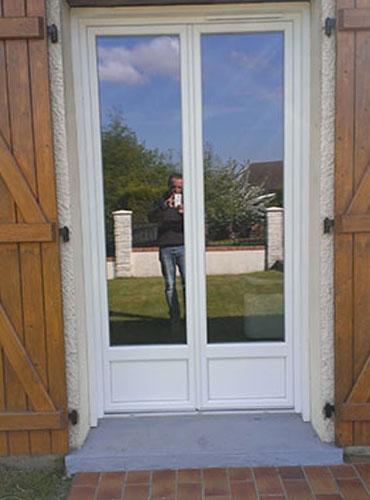 Pose de fenêtres PVC et porte d'entrée PVC dans la région de Rouen