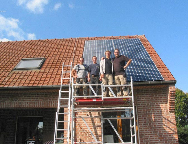 Installation de 13 panneaux solaires photovoltaïques à Bondues