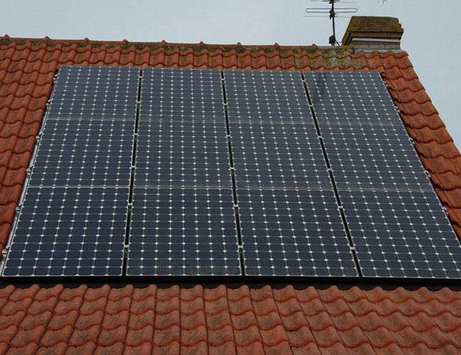 Installation de 10 panneaux solaire Lesquin