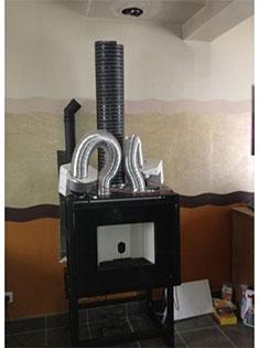 Pose d'un insert à granulés MCZ Vivo 80