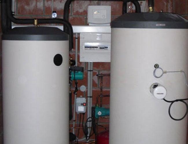 Installation d'une pompe à chaleur avec eau chaude sanitaire