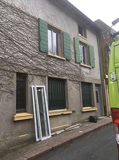 Rénovation de fenêtres et volets à Bully (69)