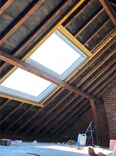 Rénovation et création de fenêtres de toit Velux à Coudekerque-Branche (59)