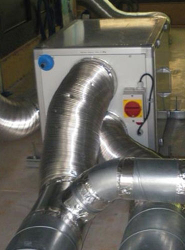 Installation d'une VMC double flux à haut rendement