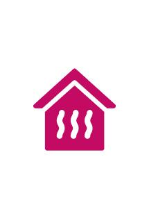 Diffusion de la chaleur du plancher chauffant