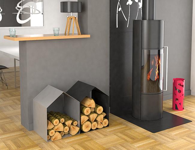 Accessoires cheminée et poêle à bois