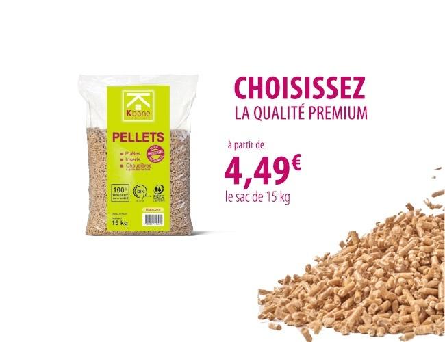Le pellets qualité premium Kbane