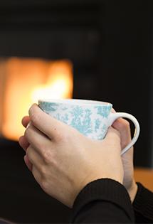 Diffusion chaleur poêle à pellets