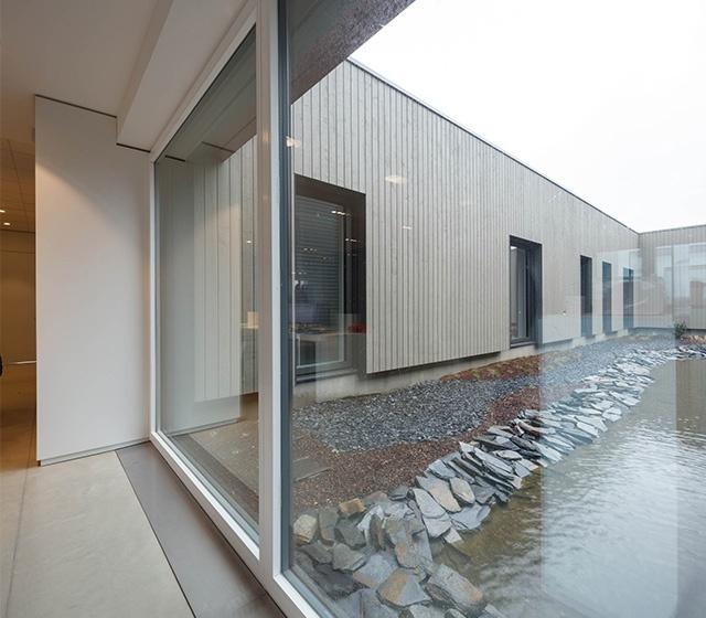 baie vitrée bois